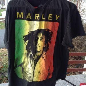 Mens bob Marley shirt.